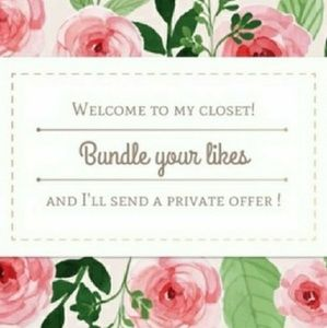 Bundle 2 or more items for a private offer